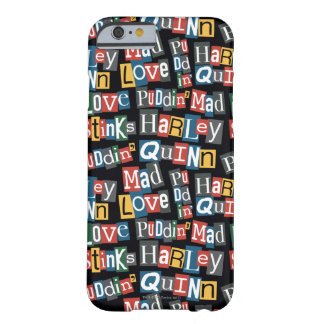 Batman   Harley Quinn Ransom Note Style Pattern Barely There iPhone 6 Case
