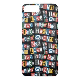 Batman   Harley Quinn Ransom Note Style Pattern iPhone 8 Plus/7 Plus Case