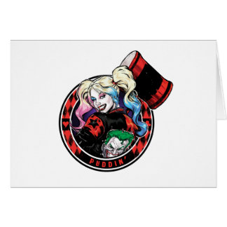 Batman | Harley Quinn Winking With Mallet Card