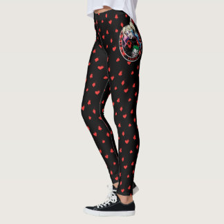 Batman | Harley Quinn Winking With Mallet Leggings