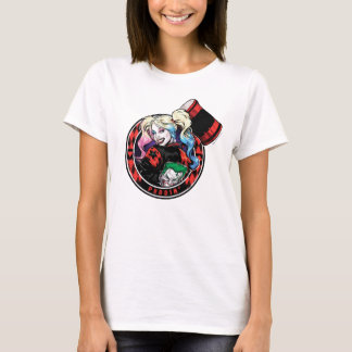 Batman | Harley Quinn Winking With Mallet T-Shirt