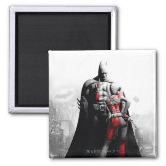 Batman & Harley Square Magnet