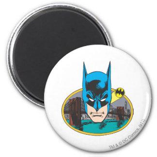 Batman Head 2 Inch Round Magnet
