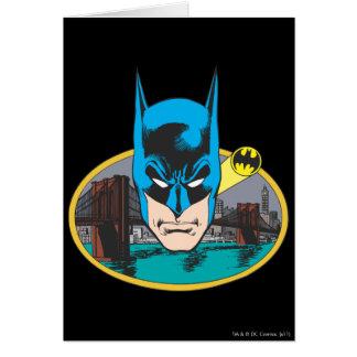 Batman Head Card