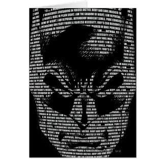 Batman Head Mantra Card