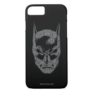 Batman Head Mantra iPhone 8/7 Case