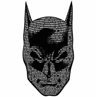 Batman Head Mantra Standing Photo Sculpture