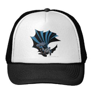 Batman high kick trucker hat