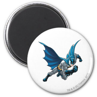 Batman into action 2 inch round magnet