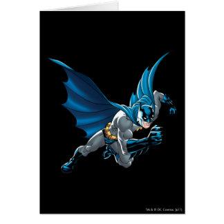 Batman into action card