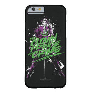 Batman   Joker Clown Prince Of Crime Ink Art Barely There iPhone 6 Case