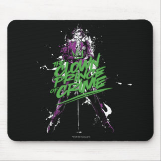 Batman | Joker Clown Prince Of Crime Ink Art Mouse Pad