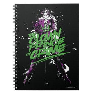 Batman   Joker Clown Prince Of Crime Ink Art Notebook