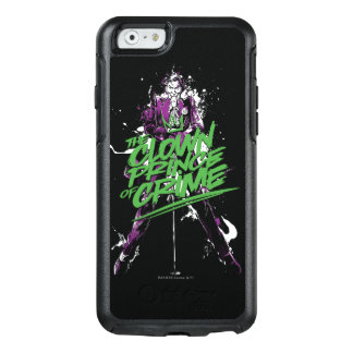 Batman   Joker Clown Prince Of Crime Ink Art OtterBox iPhone 6/6s Case