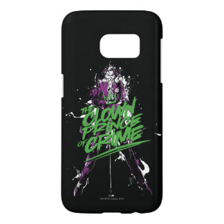 Batman | Joker Clown Prince Of Crime Ink Art Samsung Galaxy S7 Case