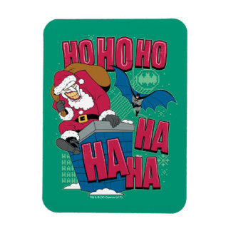 Batman | Joker Santa Claus Climbing Out Chimney Magnet