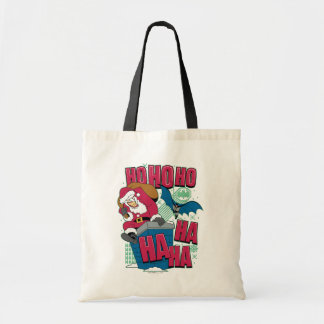 Batman | Joker Santa Claus Climbing Out Chimney Tote Bag