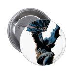 Batman Jumping Down Action Shot 2 Inch Round Button