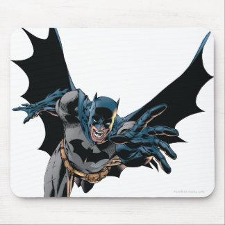 Batman Jumping Forward Yell Mouse Pads