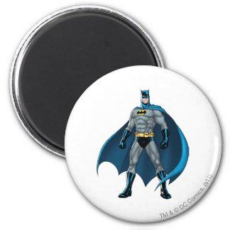 Batman Kicks 2 Inch Round Magnet