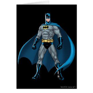 Batman Kicks Greeting Card