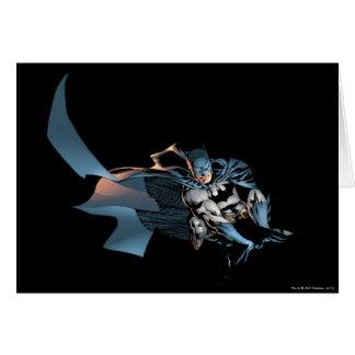 Batman Leaping Forward Card