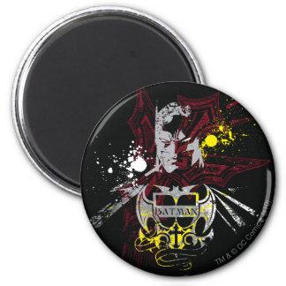 Batman Legend 2 Inch Round Magnet