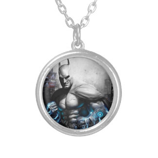 Batman - Lightning Silver Plated Necklace