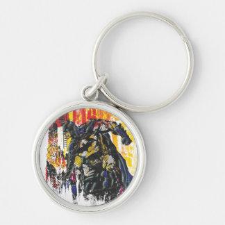 Batman Line Art Collage Key Chains