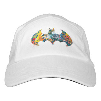Batman Logo Neon/80s Graffiti Headsweats Hat