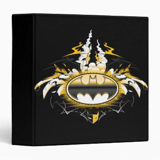 Batman Logo with Cars Vinyl Binder