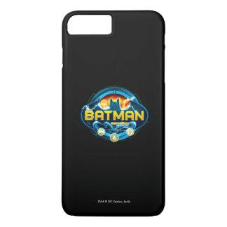 Batman Logo with Icons iPhone 7 Plus Case