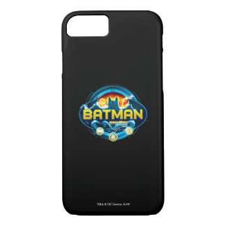 Batman Logo with Icons iPhone 8/7 Case
