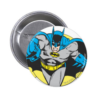 Batman Lunges Forward 2 Inch Round Button