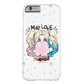 Batman   Mad Love Harley Quinn Chewing Bubble Gum Barely There iPhone 6 Case