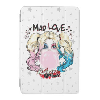Batman | Mad Love Harley Quinn Chewing Bubble Gum iPad Mini Cover