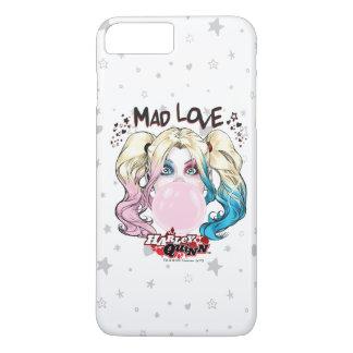 Batman   Mad Love Harley Quinn Chewing Bubble Gum iPhone 8 Plus/7 Plus Case