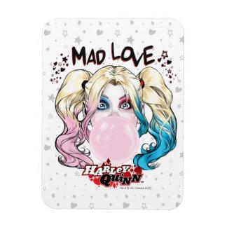 Batman   Mad Love Harley Quinn Chewing Bubble Gum Magnet