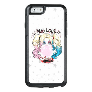 Batman   Mad Love Harley Quinn Chewing Bubble Gum OtterBox iPhone 6/6s Case