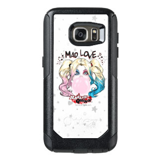 Batman | Mad Love Harley Quinn Chewing Bubble Gum OtterBox Samsung Galaxy S7 Case