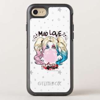 Batman | Mad Love Harley Quinn Chewing Bubble Gum OtterBox Symmetry iPhone 8/7 Case