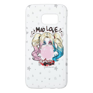 Batman | Mad Love Harley Quinn Chewing Bubble Gum Samsung Galaxy S7 Case