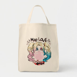 Batman | Mad Love Harley Quinn Chewing Bubble Gum Tote Bag