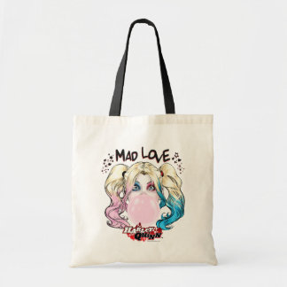 Batman | Mad Love Harley Quinn Chewing Bubble Gum Tote Bag