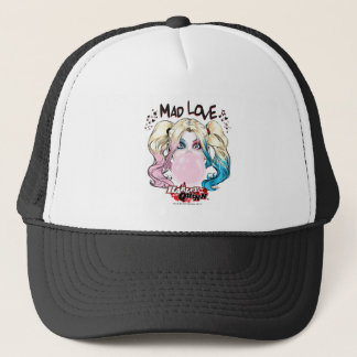 Batman | Mad Love Harley Quinn Chewing Bubble Gum Trucker Hat
