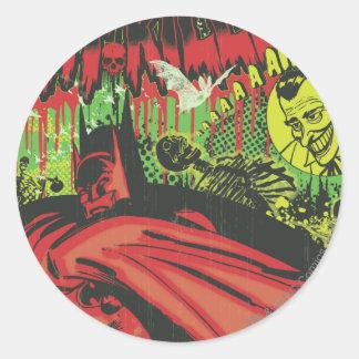 Batman Movie Round Sticker