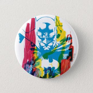 Batman Neon Marker Collage 2 Inch Round Button