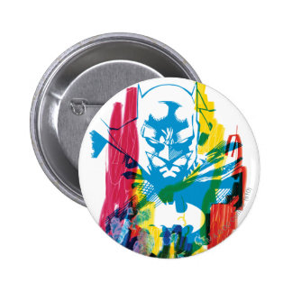 Batman Neon Marker Collage 2 Inch Round Button