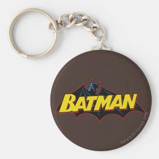 Batman Old School Logo Key Chains