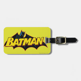 Batman | Old School Logo Luggage Tag